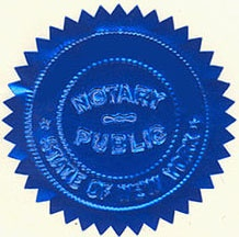 Photo of Notary Seal